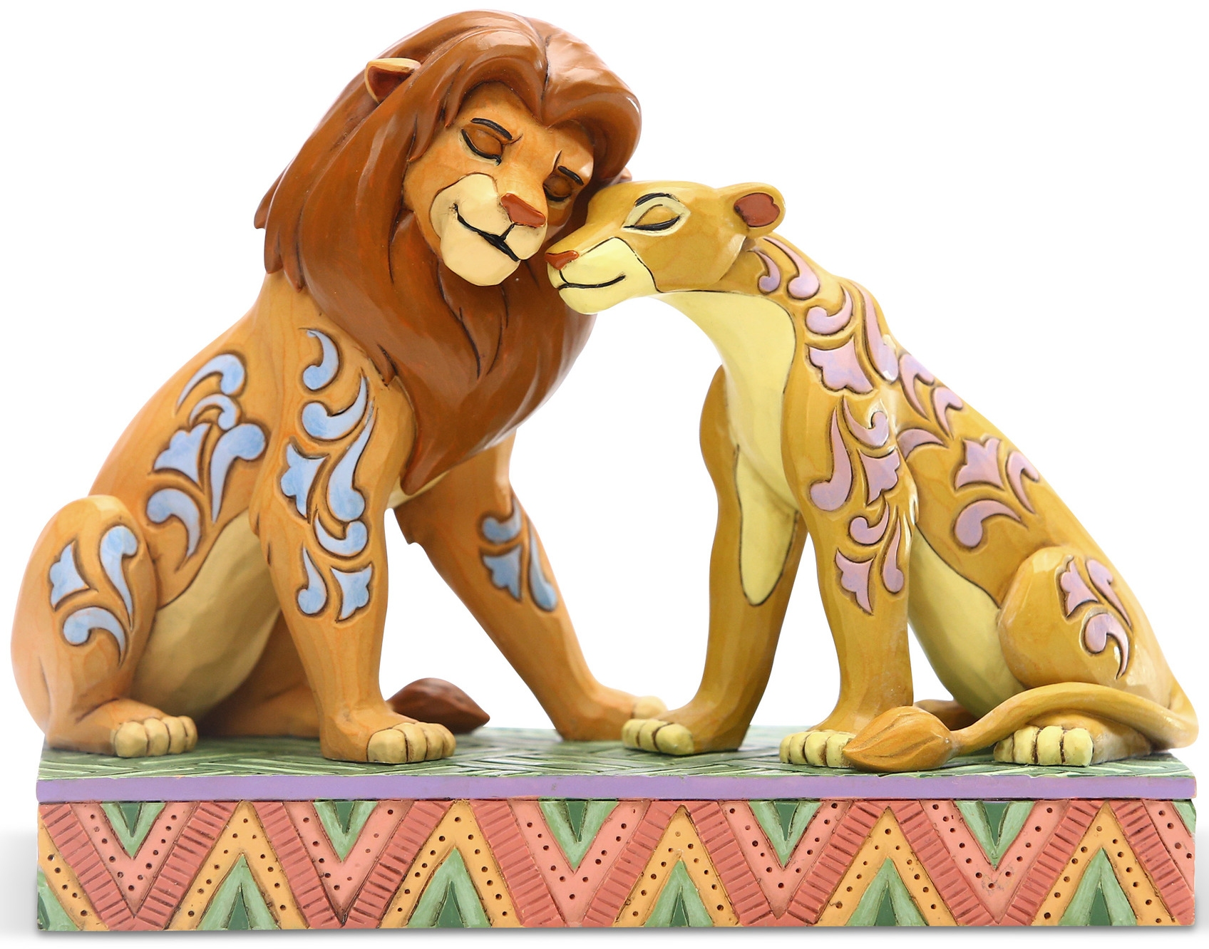 Jim Shore Disney 6005961N Simba and Nala Figurine