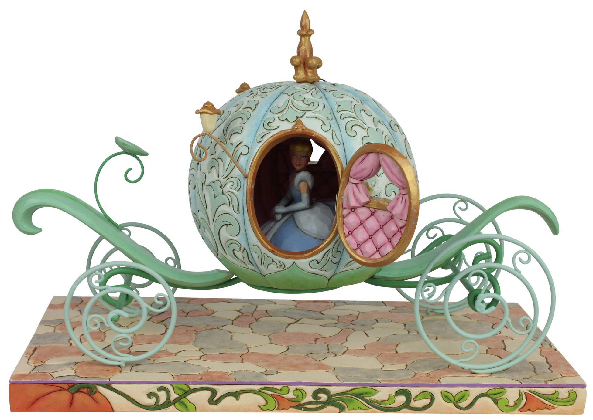 Disney Traditions by Jim Shore 6007055 Pumpkin Coach with Cinderella Figurine