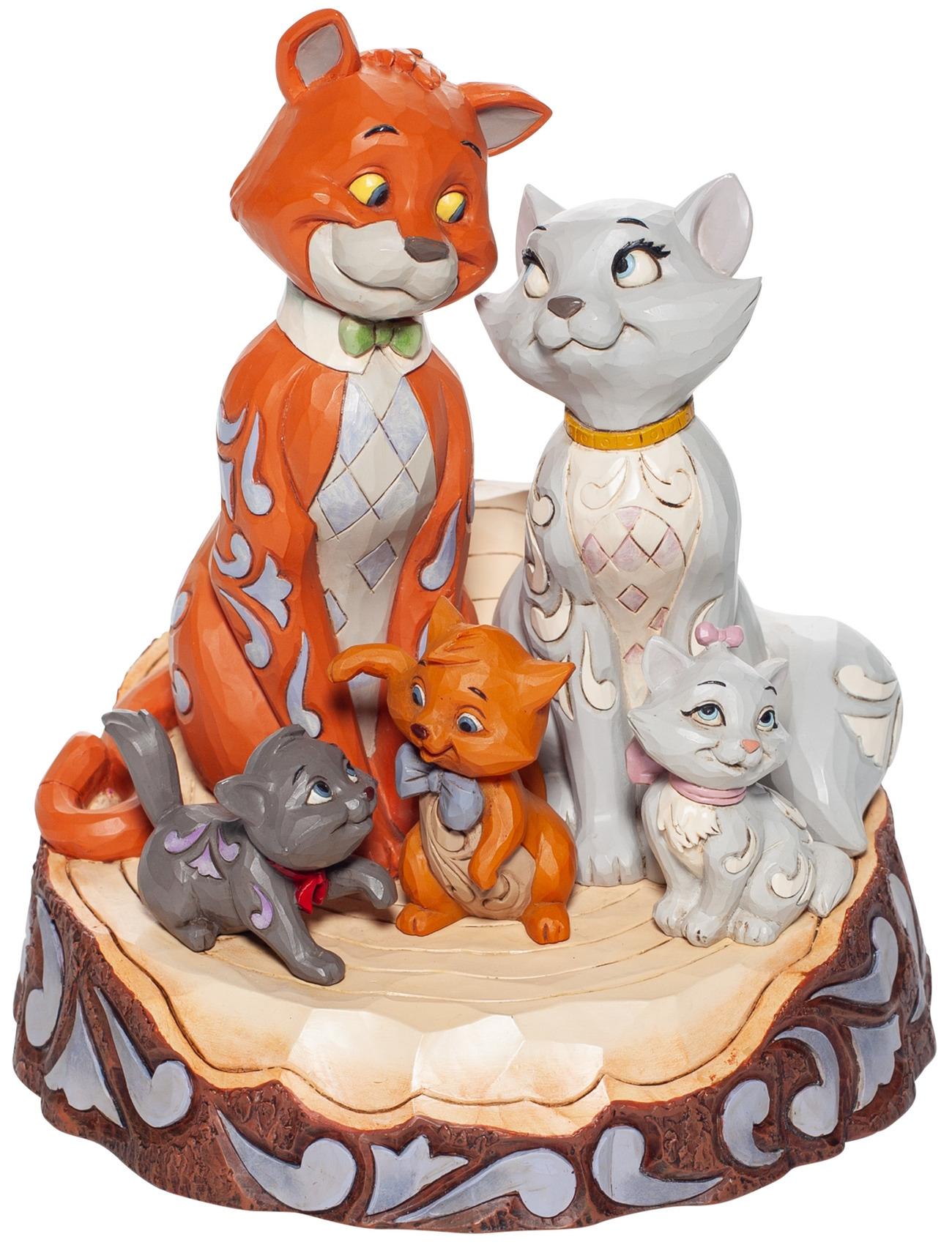 Jim Shore Disney 6007057N Aristocats Figurine