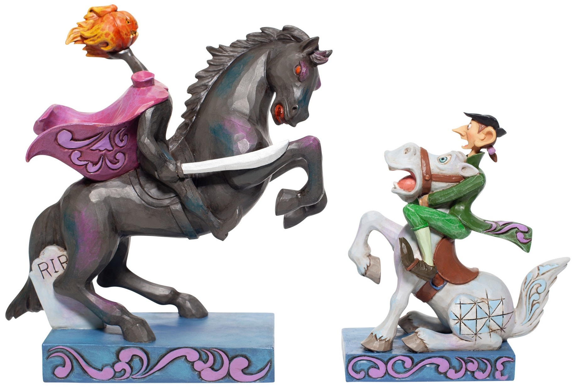Disney Traditions by Jim Shore 6007059N Headless Horseman & Ichabod Figurine
