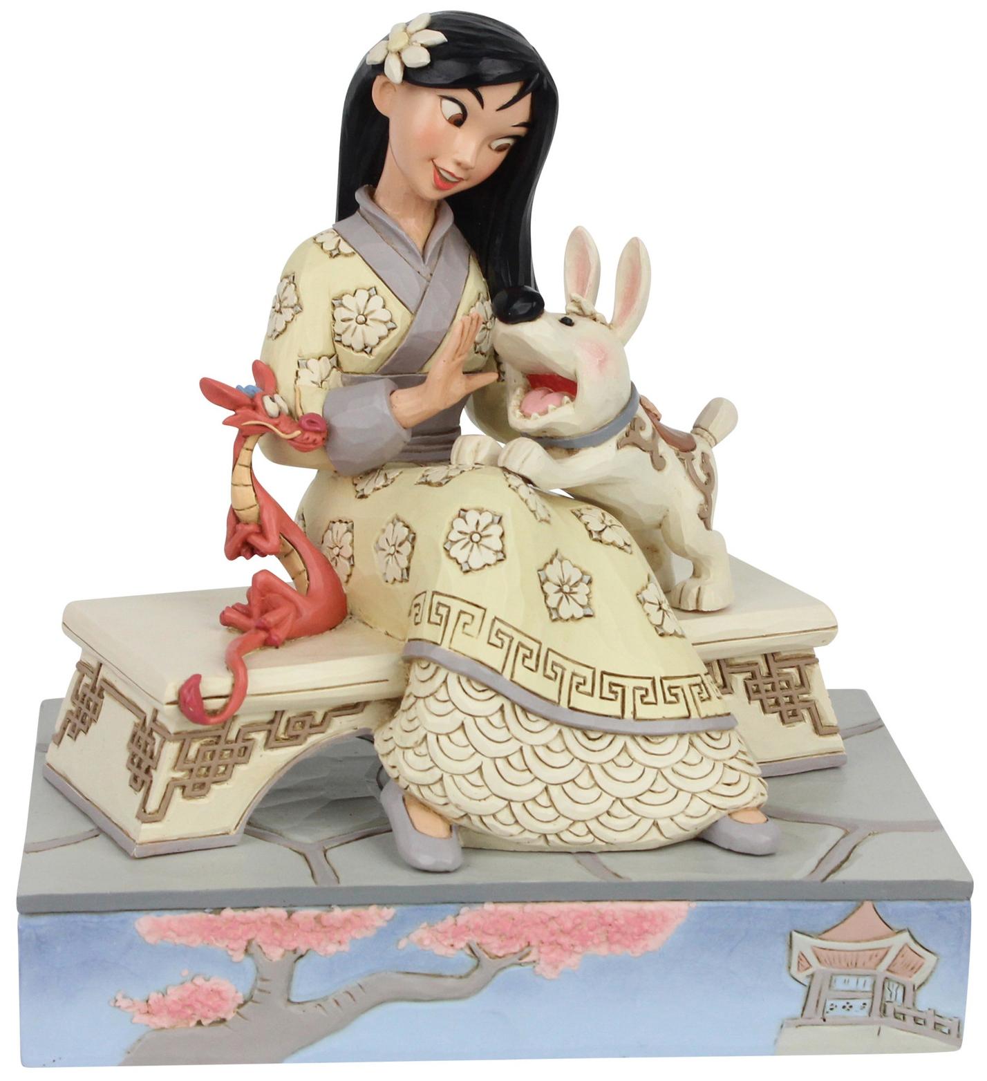 Disney Traditions by Jim Shore 6007061 White Woodland Mulan Figurine