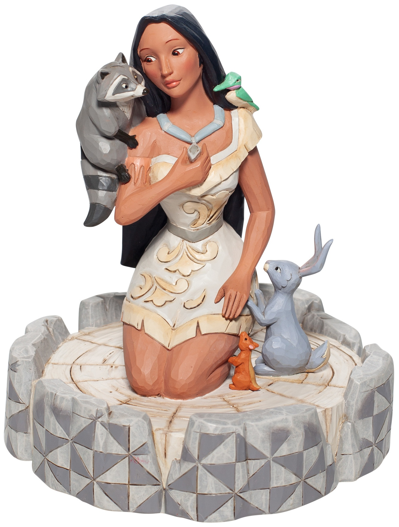 Jim Shore Disney 6007062 White Woodland Pocahontas Figurine