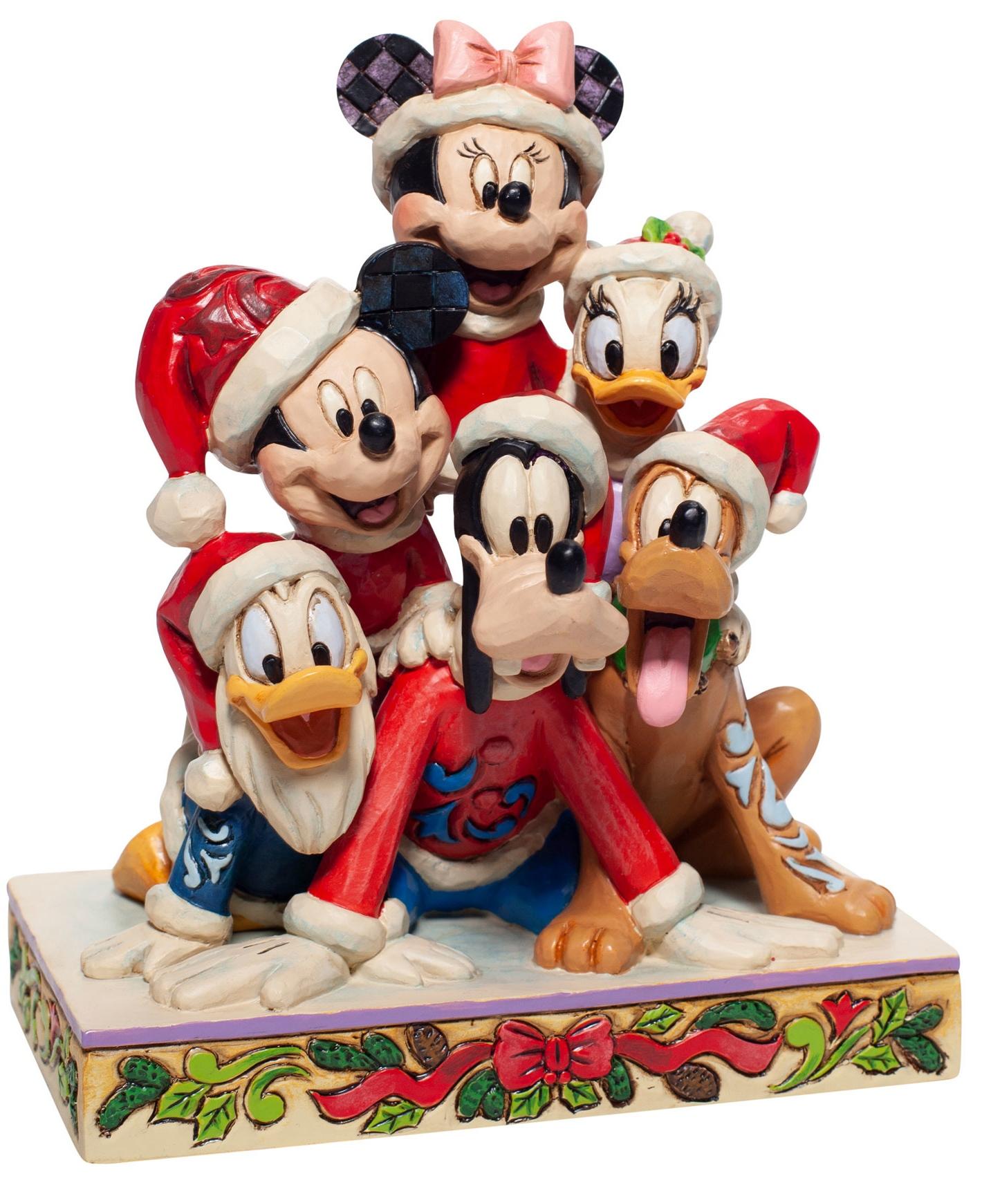 Jim Shore Disney 6007063 Christmas Mickey Figurine