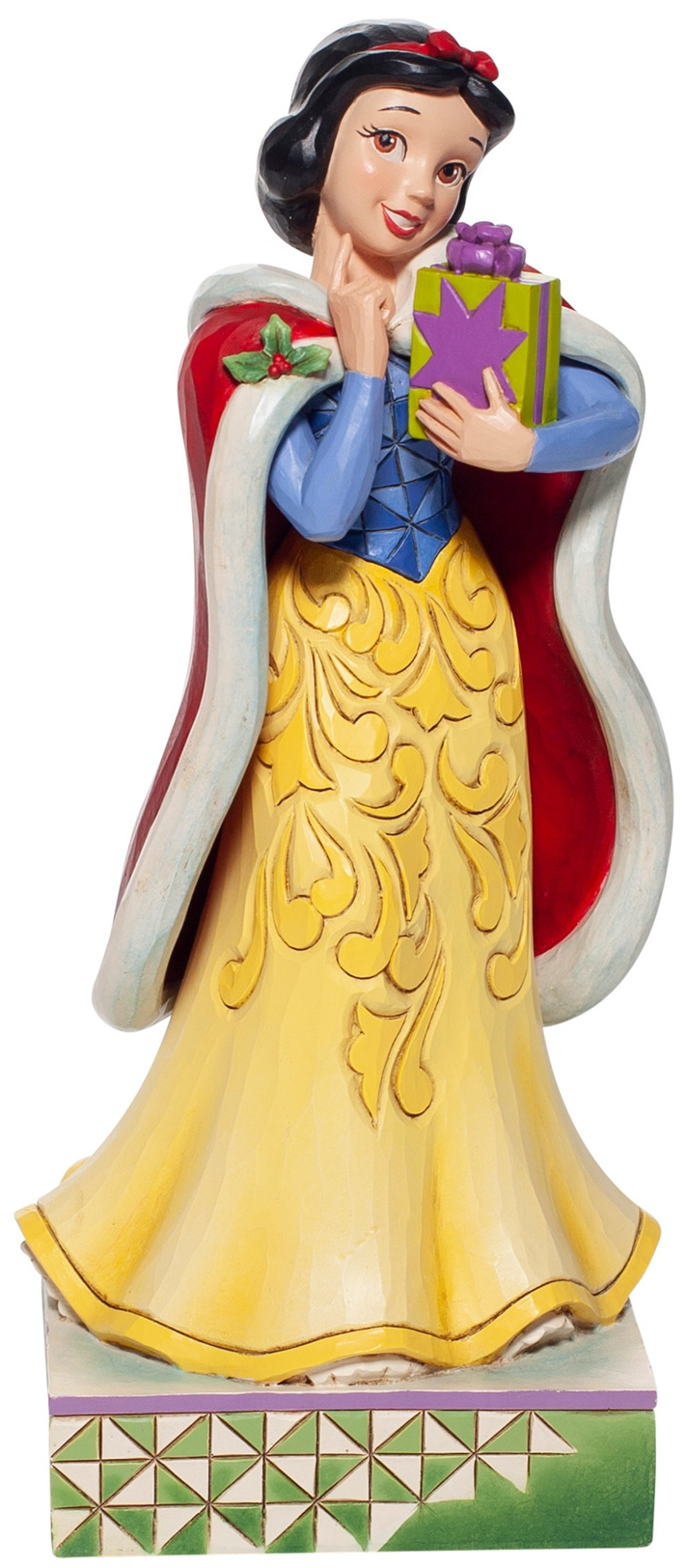 Jim Shore Disney 6007064N Christmas Snow White Figurine