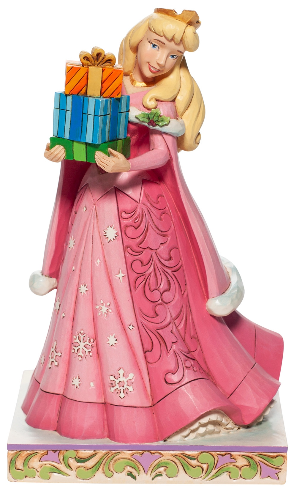 Disney Traditions by Jim Shore 6007066N Christmas Aurora Figurine