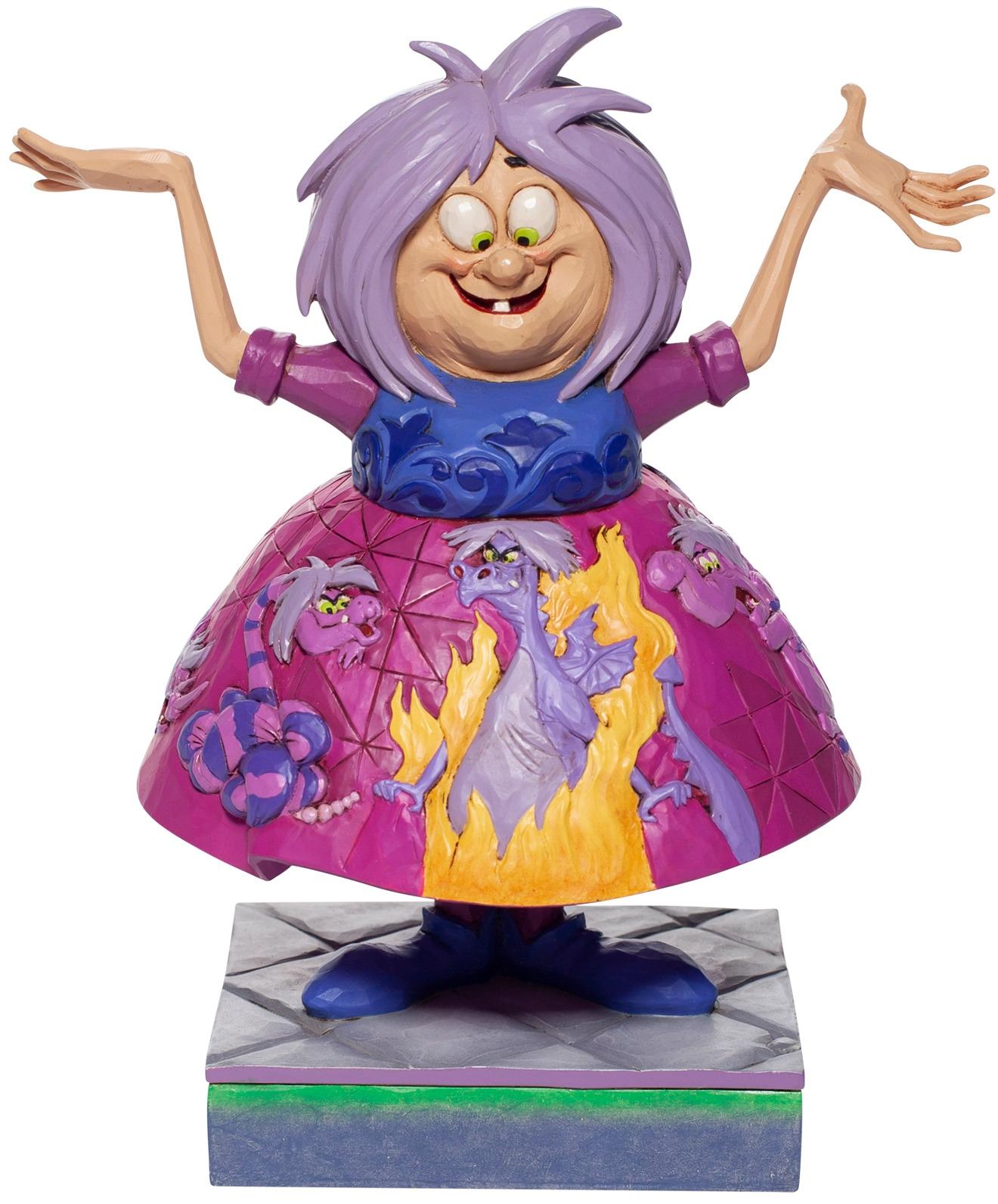 Jim Shore Disney 6007072 Madam Mim Figurine