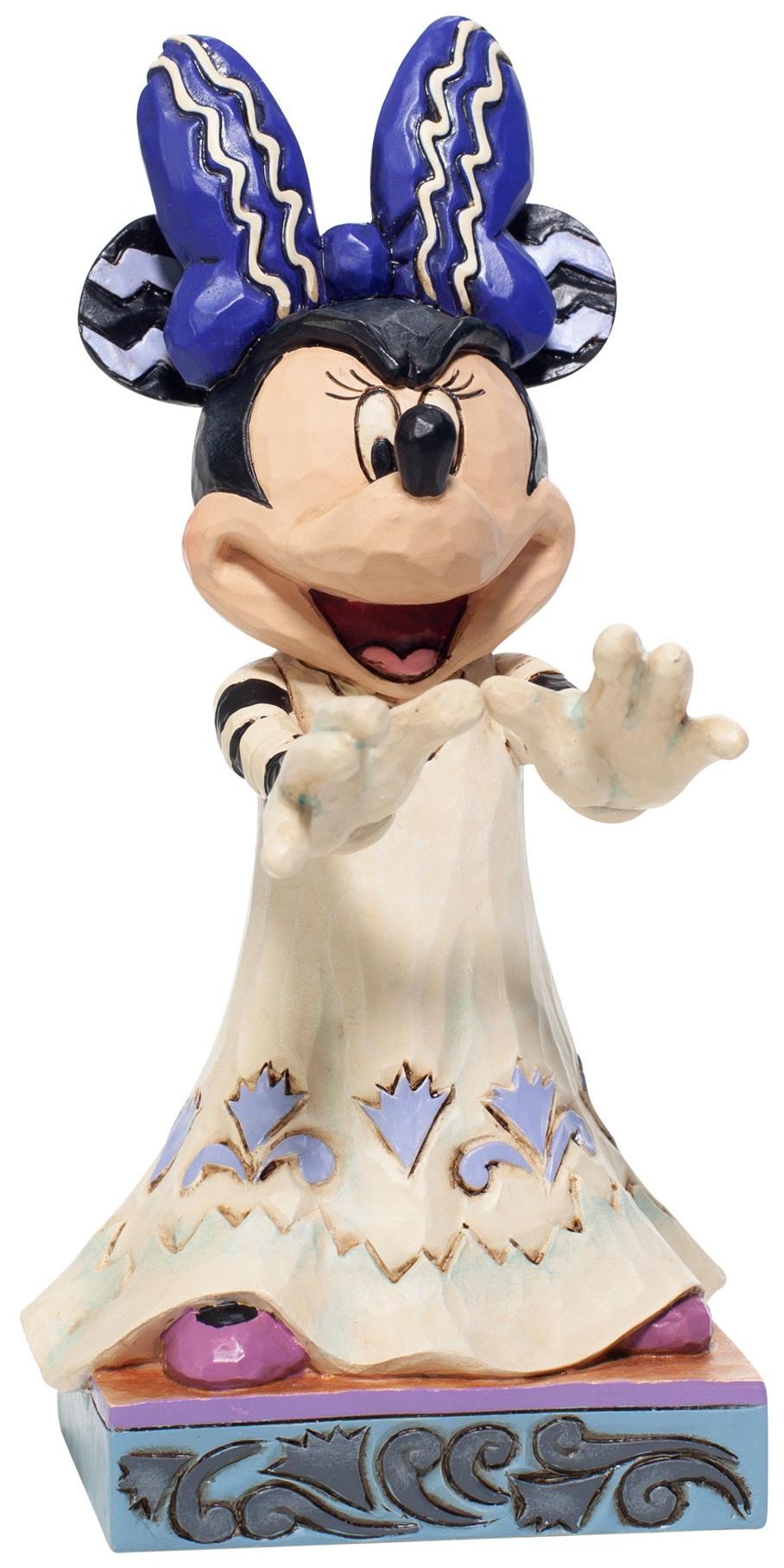 Jim Shore Disney 6007078 Halloween Minnie Figurine