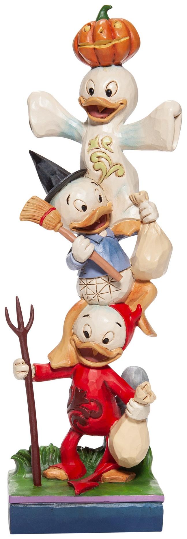 Disney Traditions by Jim Shore 6007079 Halloween Huey Dewey & Louie Figurine