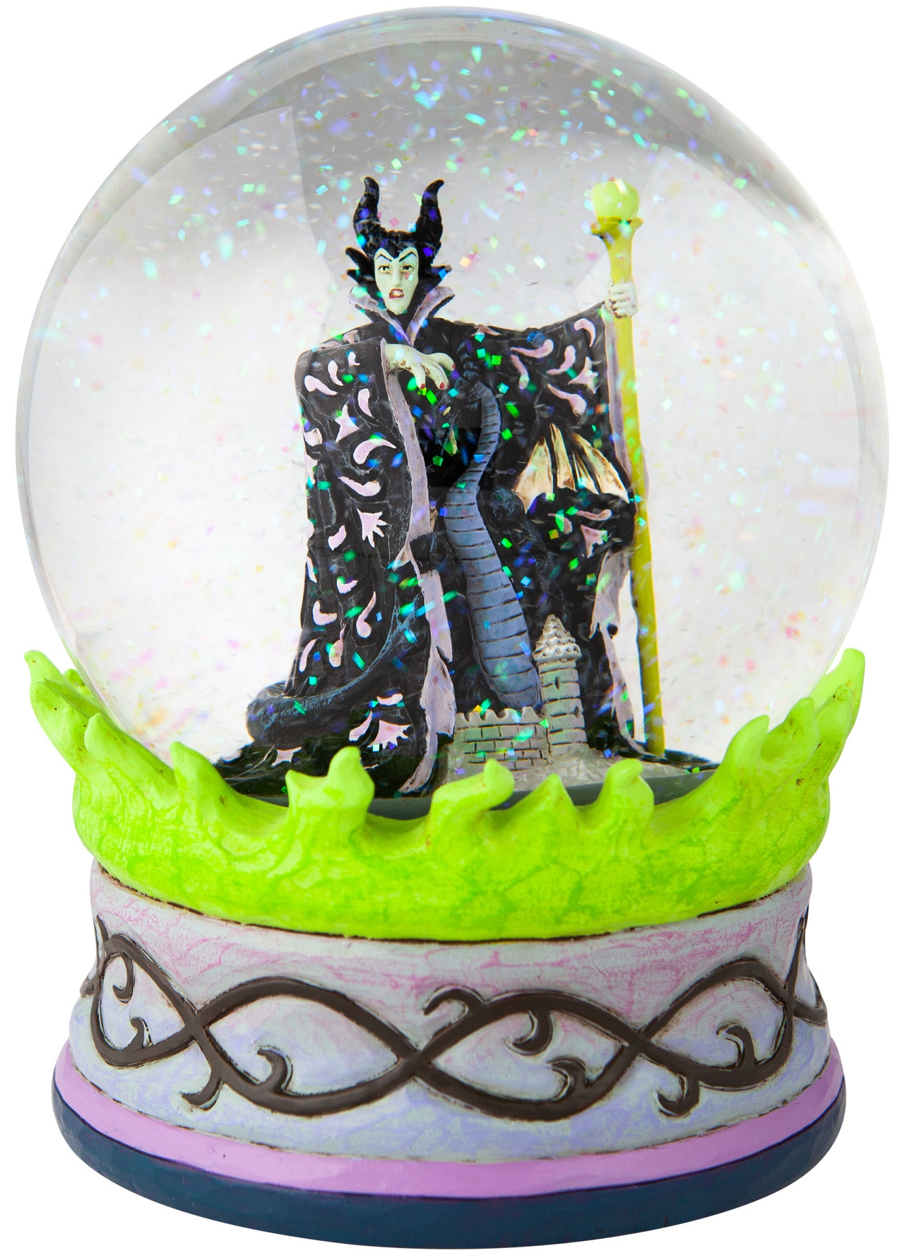 Jim Shore Disney 6007084 Maleficent Waterball