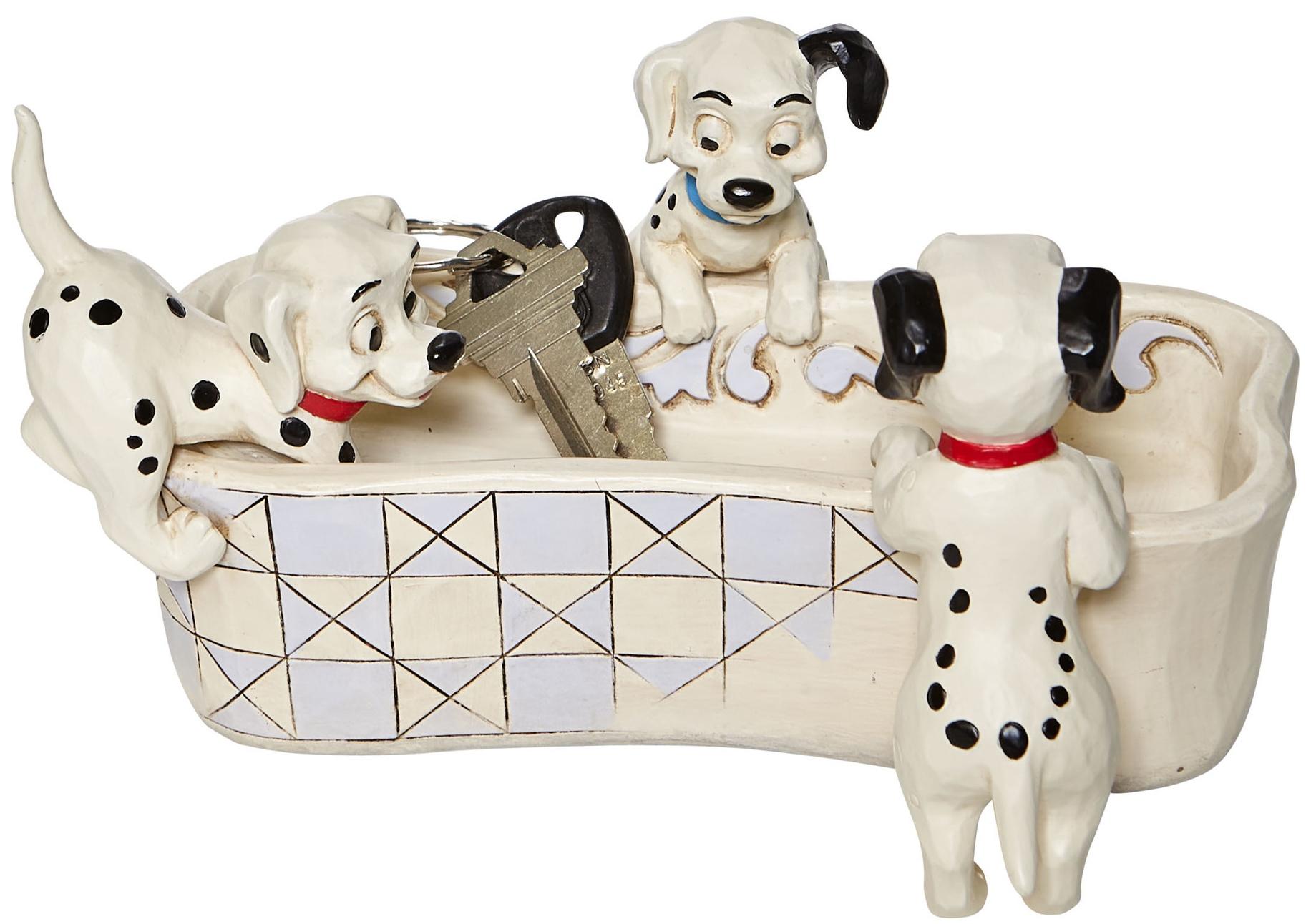 Jim Shore Disney 6008060N Dalmatians Bone Trinket Figurine