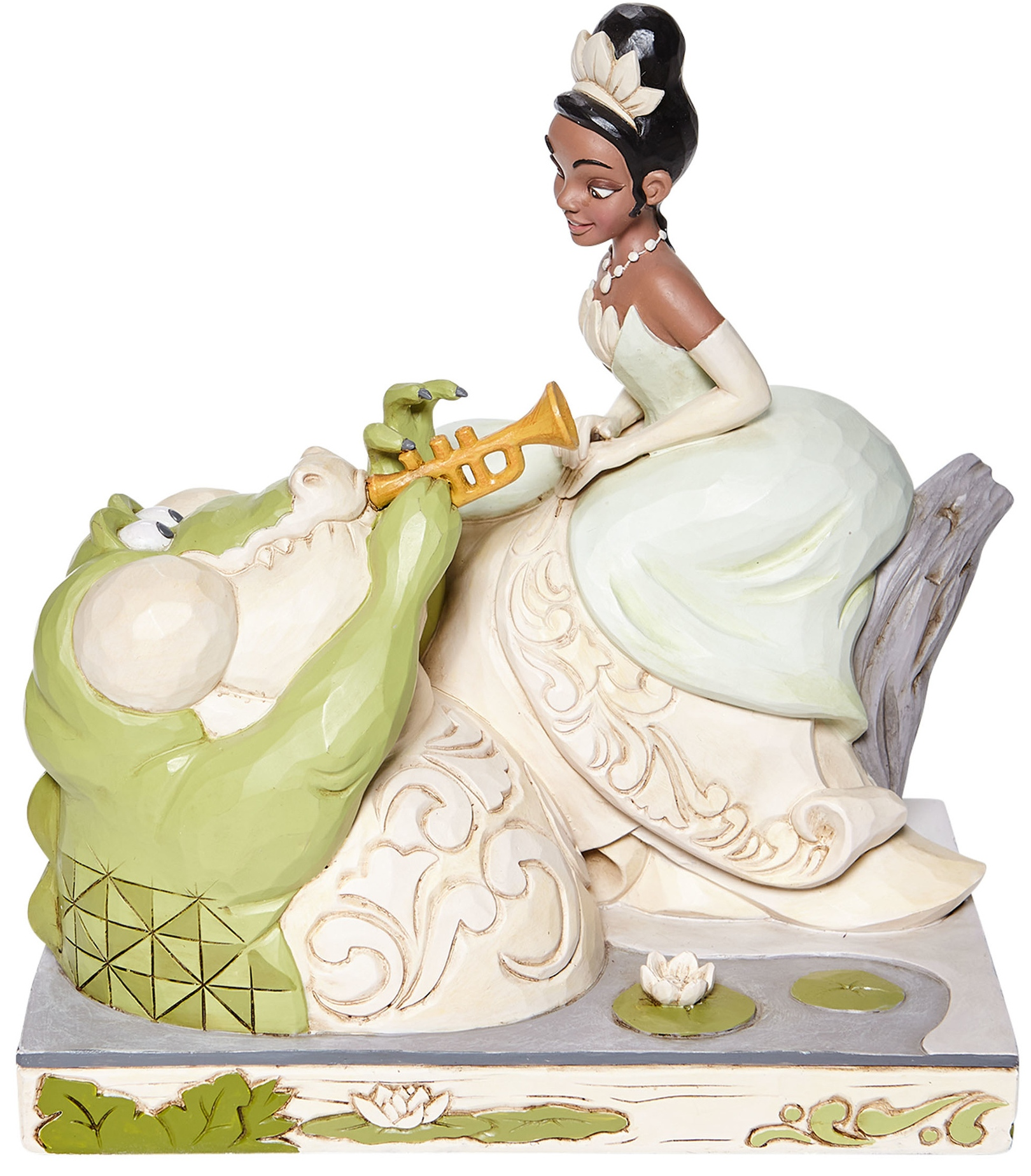 Jim Shore Disney 6008065N White Woodland Tiana Figurine