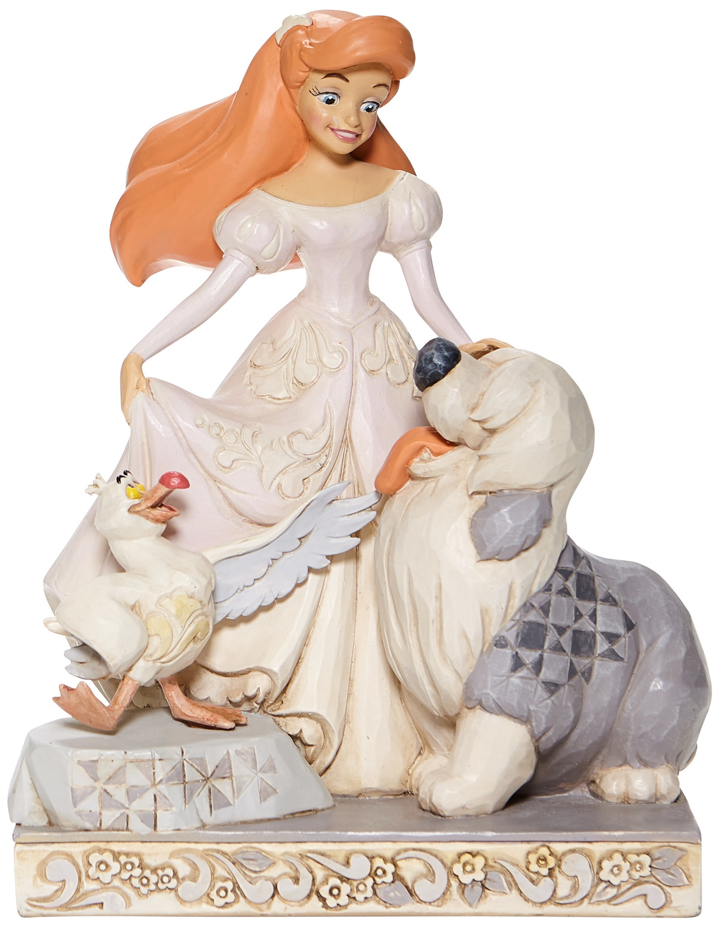 Disney Traditions by Jim Shore 6008066 White Woodland Ariel Figurine
