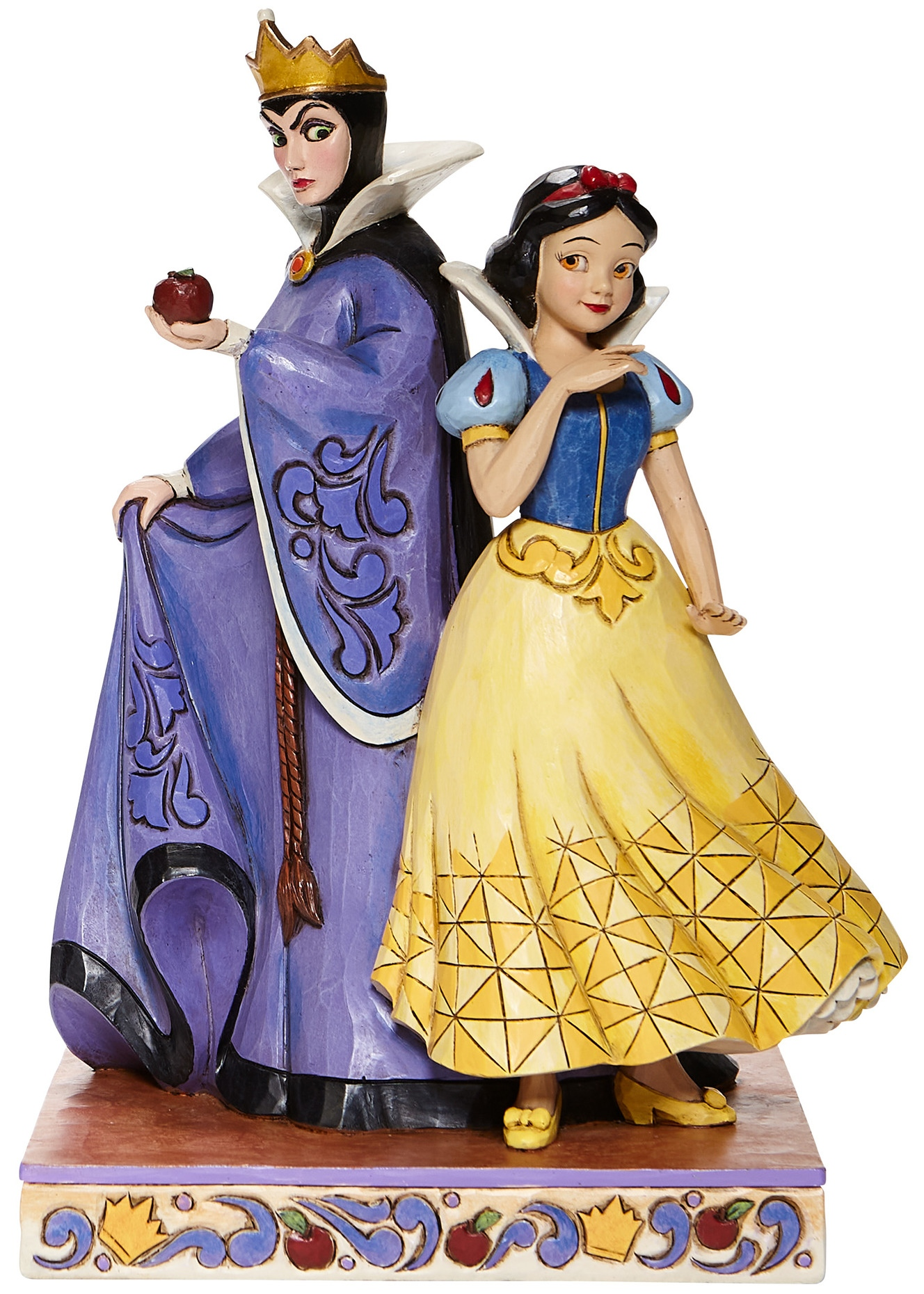 Disney Traditions by Jim Shore 6008067N Snow White & Evil Queen Figurine