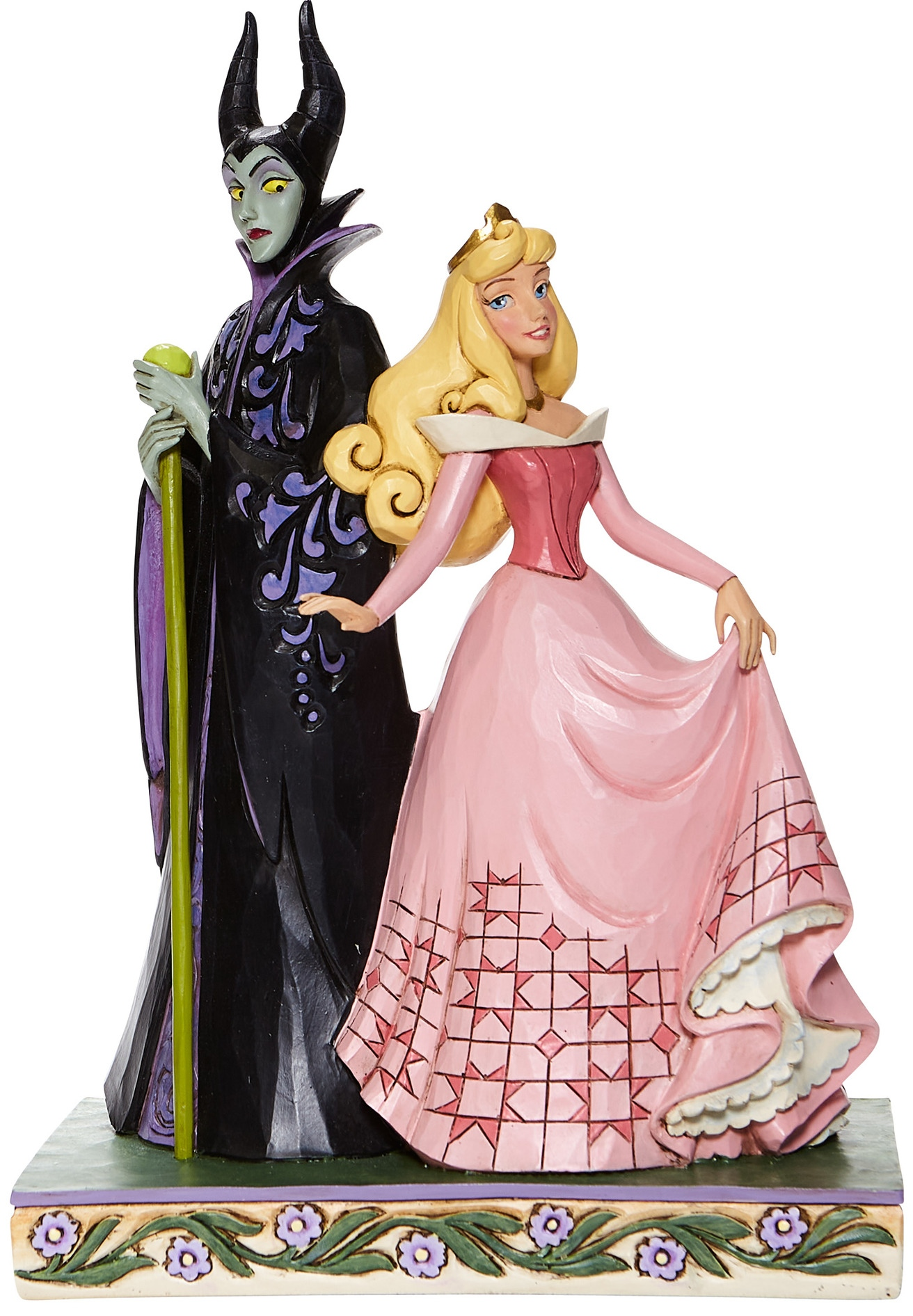 Jim Shore Disney 6008068 Aurora & Maleficent Figurine