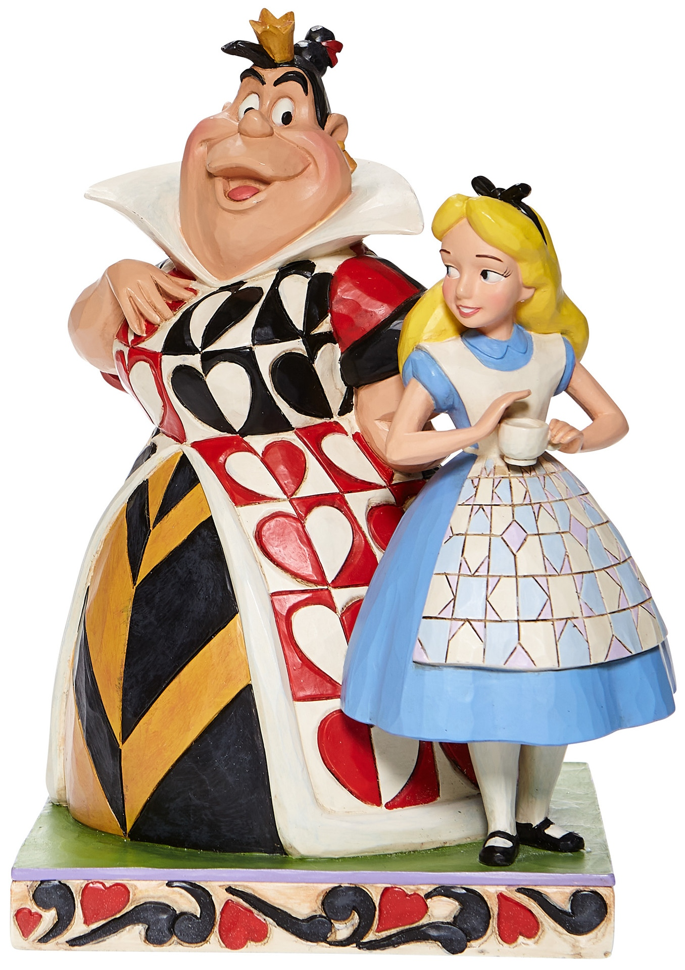 Jim Shore Disney 6008069N Alice & Queen of Hearts Figurine