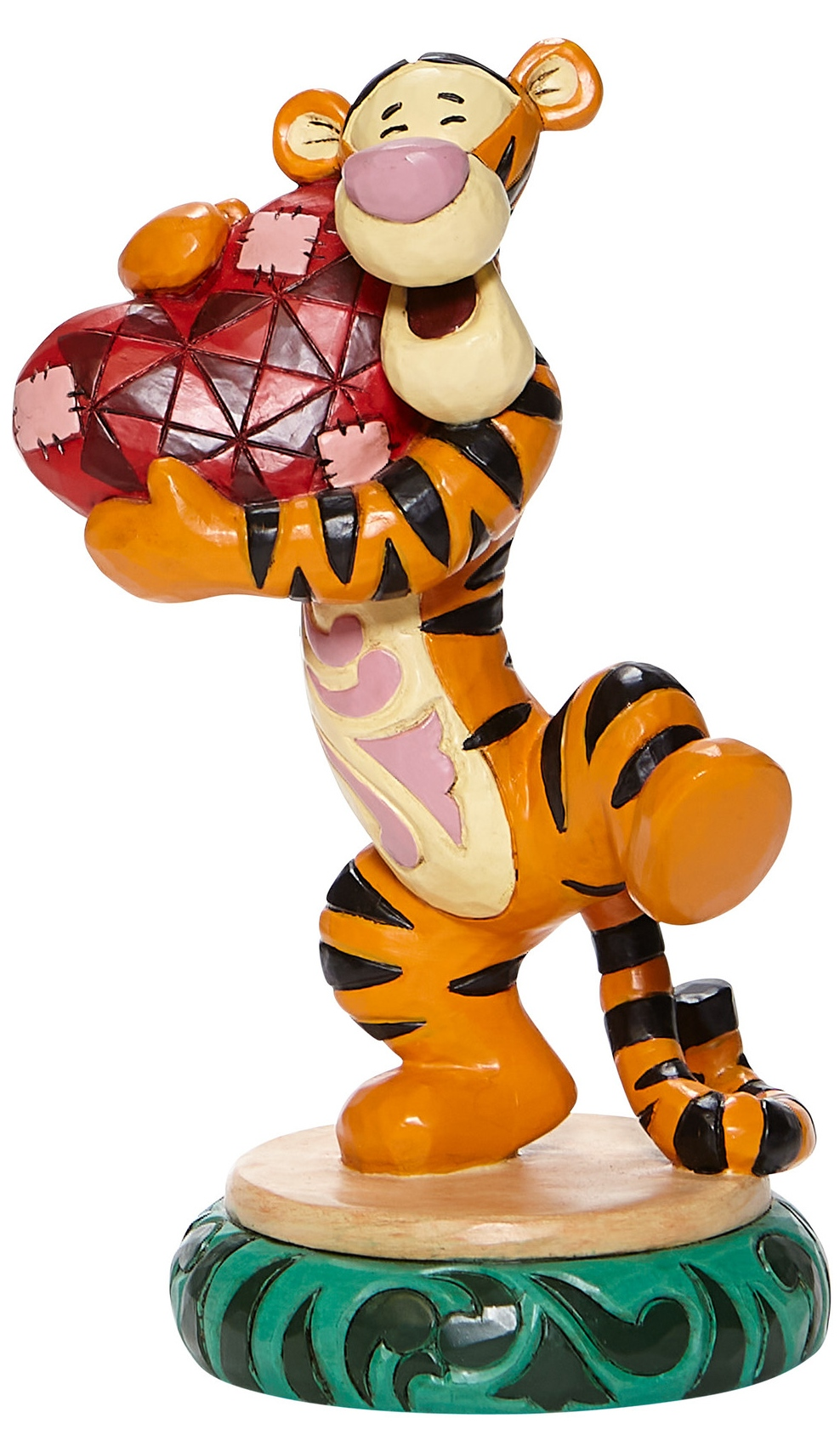 Disney Traditions by Jim Shore 6008073 Tigger Holding Heart Figurine