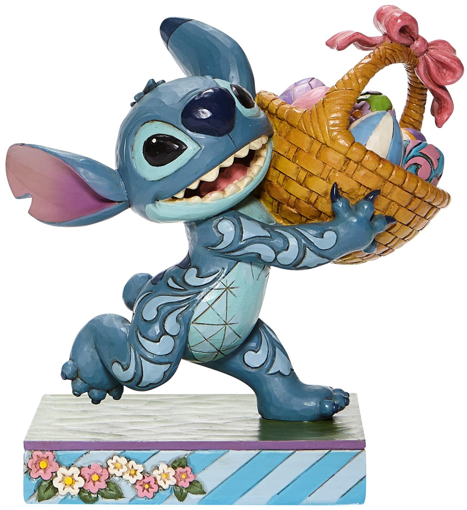 Jim Shore Disney 6008075 Stitch Running Figurine