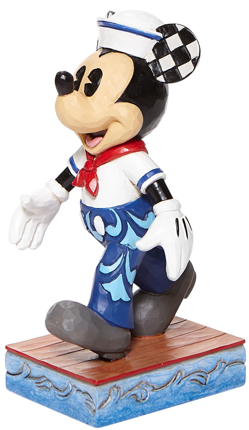 Jim Shore Disney 6008079N Mickey Sailor Personality Figurine