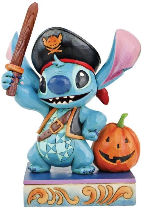 Jim Shore Disney 6008987 Pirate Stitch Figurine