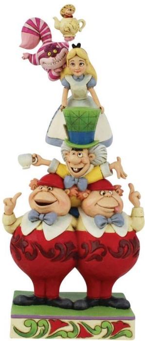 Jim Shore Disney 6008997N Alice in Wonderland Figurine