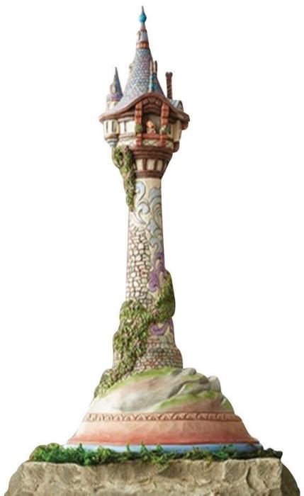 Jim Shore Disney 6008998N Masterpiece Rapunzel Tower Figurine