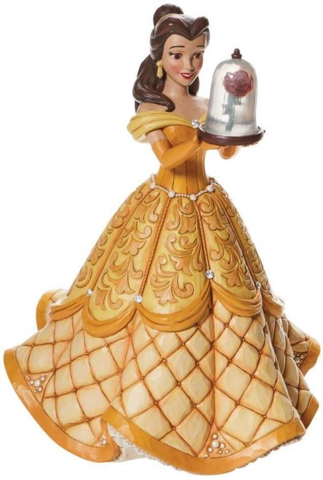 Jim Shore Disney 6009139N Belle in Ball Gown Figurine