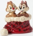 Jim Shore Disney 4039036 Chip and Dale in hat