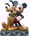 Jim Shore Disney 4048656 Mickey & Pluto