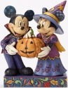 Jim Shore Disney 4051978 Mickey and Minnie in Pum