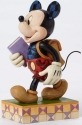 Jim Shore Disney 4051995 Back to School Mickey