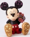Disney Traditions by Jim Shore 4054284 Mini Mickey with flowers