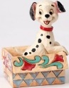 Jim Shore Disney 4054287 Mini Lucky in a box