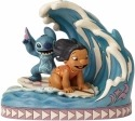 Jim Shore Disney 4055407 Lilo and Stitch 15th Anniversary