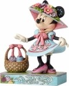 Jim Shore Disney 4055429 Minnie Mouse in Easter B
