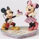 Disney Traditions by Jim Shore 4055436 Mickey Proposing to Minnie