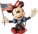 Disney Traditions by Jim Shore 4056744 Mini Patriotic Minnie