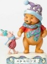 Jim Shore Disney 4057939 Winter Pooh and Piglet