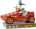 Jim Shore Disney 6000975 Soap Box Derby Donald