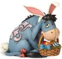 Jim Shore Disney 6001284 Eeyore as Easter Bunny