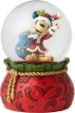 Disney Traditions by Jim Shore 6001360 Santa Mickey Waterball