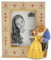 Jim Shore Disney 6001369 Beauty and the Beast Photo Frame