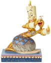 Jim Shore Disney 6002814 Lumiere and Feather Dust