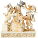 Disney Traditions by Jim Shore 6002828N White Woodland Fab 4