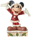 Disney Traditions by Jim Shore 6002842N Mickey Christmas PP