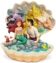 Disney Traditions by Jim Shore 6005956N Little Mermaid Shell Scene Figurine