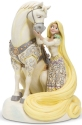 Disney Traditions by Jim Shore 6005958 Rapunzel White Woodland Figurine