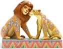 Jim Shore Disney 6005961 Simba and Nala Figurine