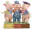 Disney Traditions by Jim Shore 6005974N Three Little Pigs Figurine