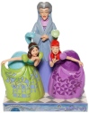 Disney Traditions by Jim Shore 6007056N Lady Tremaine & Anastasia Figurine
