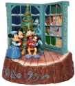 Jim Shore Disney 6007060 Mickey's Christmas Carol Figurine